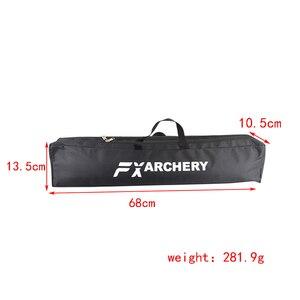Image 2 - 1 шт., Рекурсивный бант для стрельбы из лука, длинный бант, парусиновая сумка с двойным слоем, портативная Защитная водонепроницаемая сумка, аксессуары для охоты и стрельбы