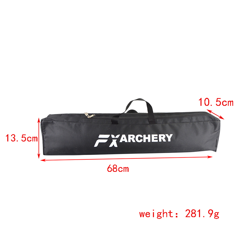 Image 2 - 1pc Archery Recurve Bow Longbow Canvas Bow Bag Double Layer Portable Protector Waterproof Handbag Hunting Shooting Accessories-in Bow & Arrow from Sports & Entertainment