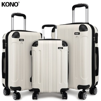 KONO Hard Shell Rolling Suitcase