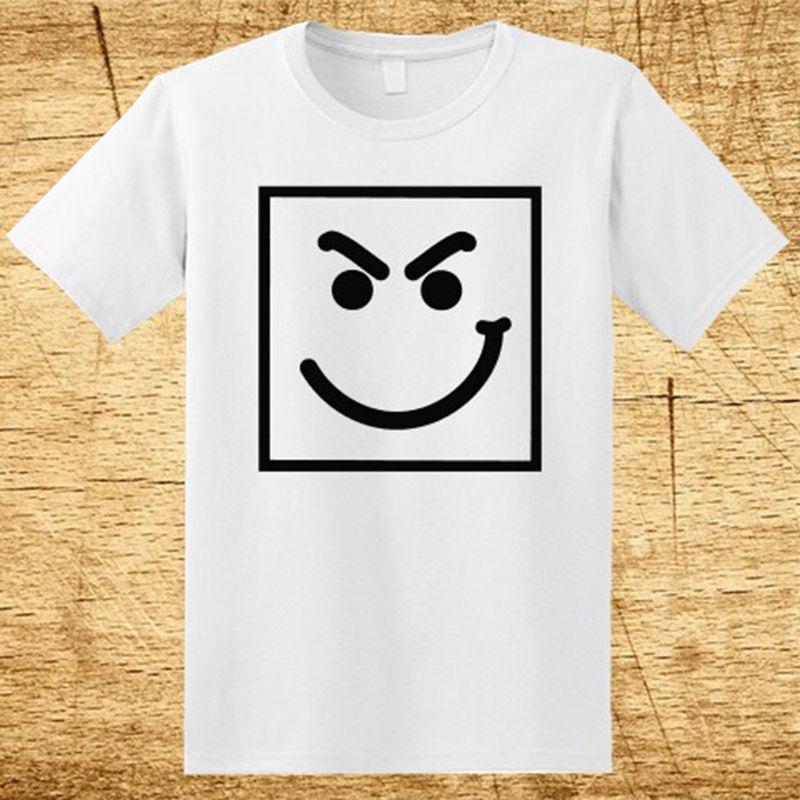 Bon Jovi Have A Nice Day Smirk Logo Men's White T-Shirt Size S-3XL 100% Cotton Hot 2017 Summer Men'S T Shirt Fashion