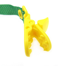 cartoon baby pacifier clip chain ribbon dummy nipple clamp soother holder anti-drop teether holder buckle strap adjusted length