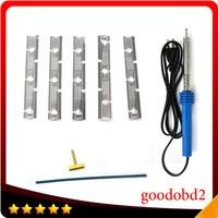 T Head Soldering Iron Plus T tip Rubber For BMW Pixel Repair Tool For BMW E38 E39 E53 cluster repair flat cable E38 E39 E53