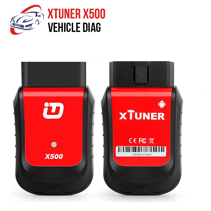 Hard-Working Xtuner X500 Bluetooth Car Diagnostic Tool Abs Battery Dpf Epb Srs Tpms Immo Key Injector For Andriod Car Repair Tools