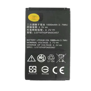 1000mAh Li3710T42P3h553457 battery for ZTE S100 S189 C360 C361 N600 N606 C170 H520 V16 mobile phone Battery Batteries