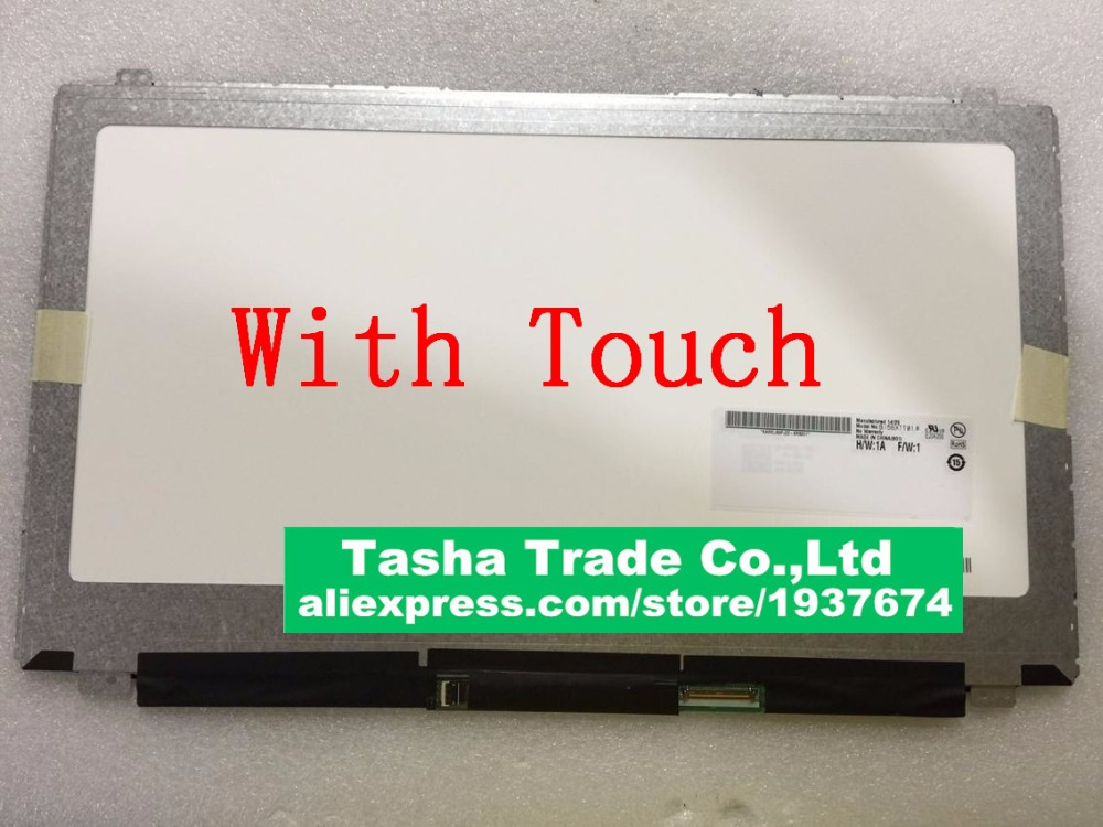 B156XTT01.0 For Dell Inspiron-15 5558 for Dell 5558 HD 1366*768 LCD Touch Screen Assembly (not 1920*1080) lp133wh2 sp b1 for dell inspiron 13 7359 digitizer lcd touch screen assembly led display replacement 1366 768