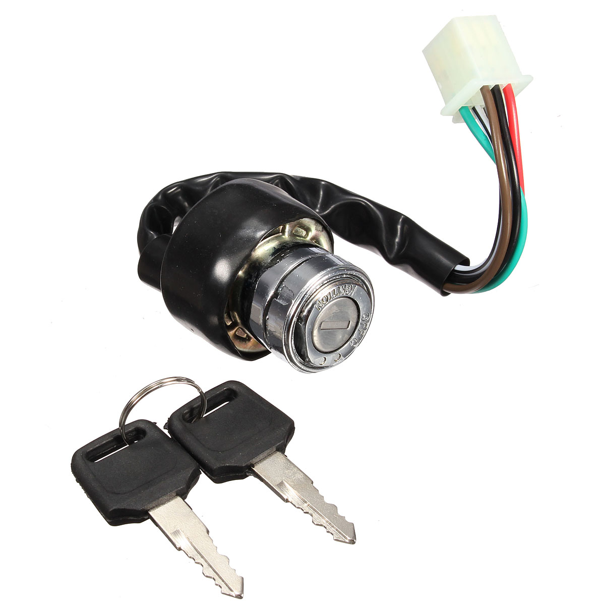 popular atv wiring buy cheap atv wiring lots from atv wiring universal motorcycle atv off road vehicles 6 wire ignition switch switches 2 keys