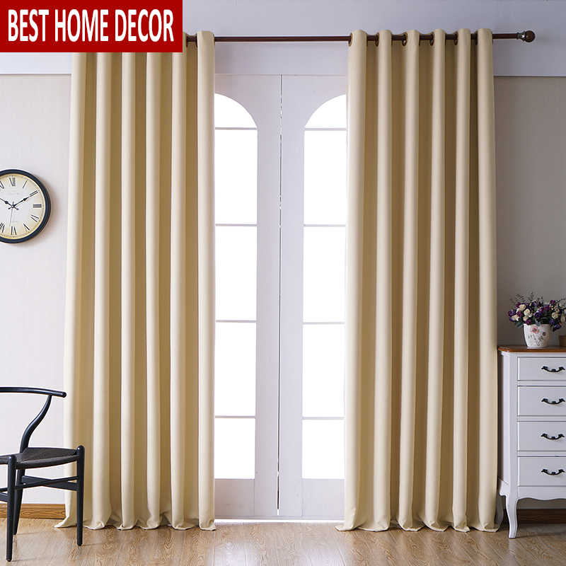 Modern blackout curtains for living room bedroom curtains for window treatment drapes yellow finished blackout curtains 1 panel