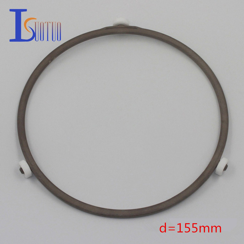 155mm outer diameter original Galanz microwave oven runner wheel bracket tray circle bracket microwave oven parts. холодильник galanz bcd 217t