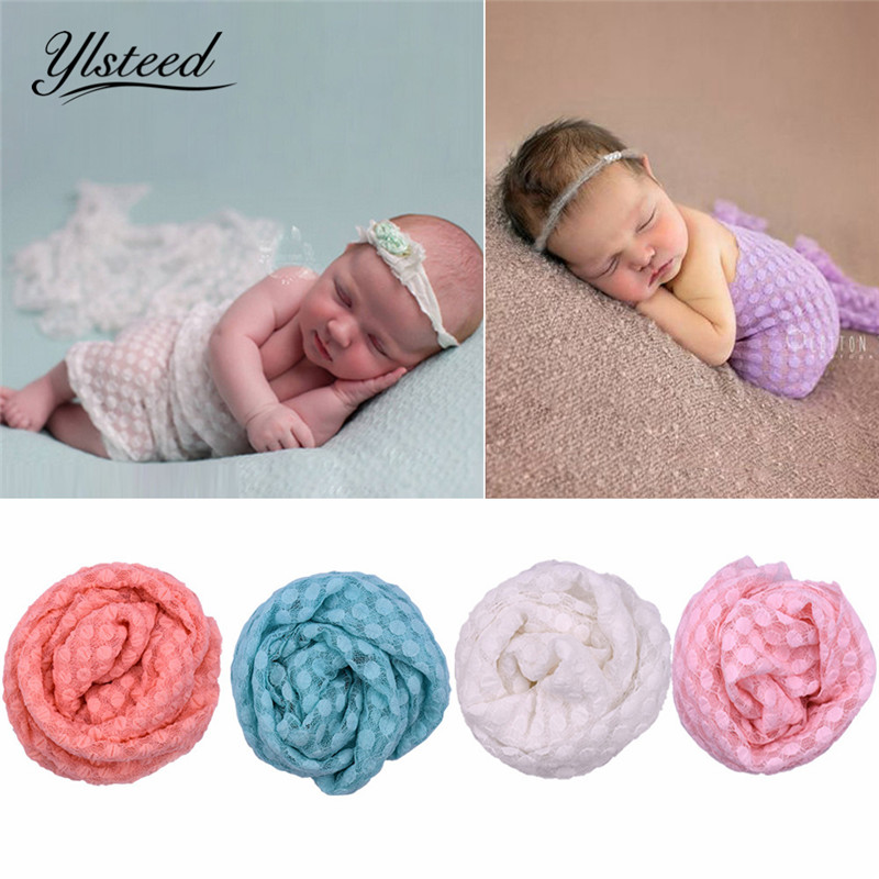 160*100cm Dot Baby Infant Swaddle Blanket Newborn Fotografia Hammock Swaddle Wrap Newborn Photography Props Blanket Sleeping Bag Mother & Kids