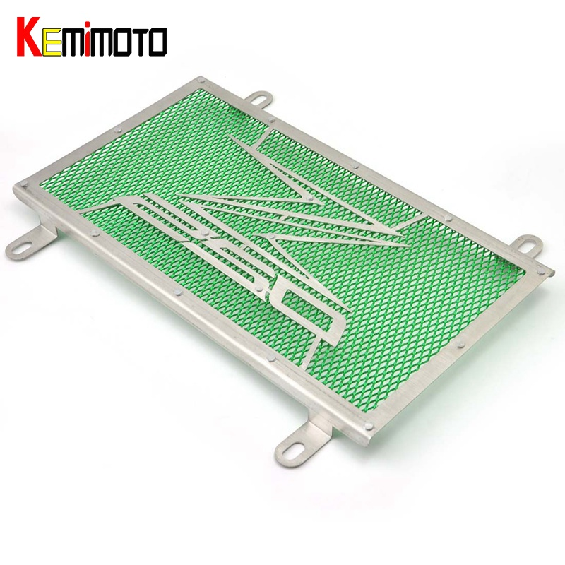KEMiMOTO NINJA250 Motorcycle Accessories Radiator Grille Guard Cover Protector Fuel Tank For Kawasaki NinJa 250 Z250 2013-2016 arashi motorcycle radiator grille protective cover grill guard protector for 2008 2009 2010 2011 honda cbr1000rr cbr 1000 rr