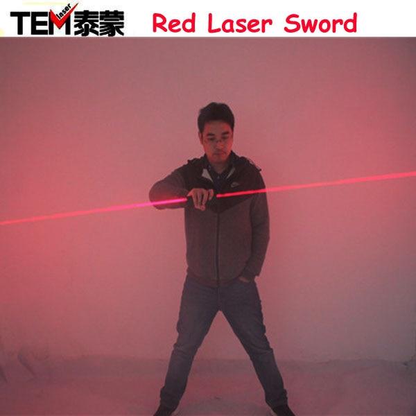 Livraison Gratuite double Direction Rouge Laser Épée laser man show 635nm big beam à double tête laser module de Diode