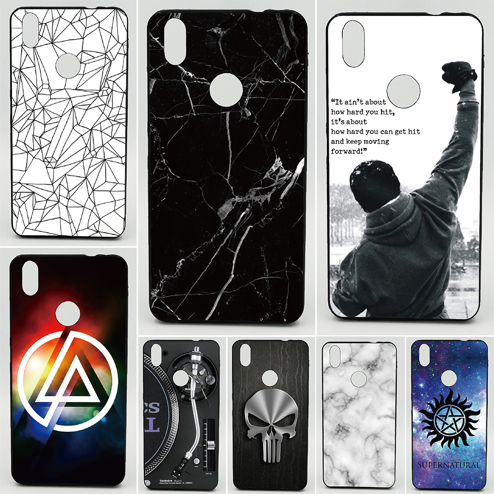 US $3 23 15% OFF Phone Case For BQ Aquaris X Cases Music breaks Marble 2D  Paiting Back Silicon Cover For BQ Aquaris X pro Soft TPU Covers-in