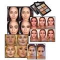 Brand Hot 6 Colors Baked Facial Bronzer Powder Palette Highlight Contour Face Grooming Makeup Make Up Palette