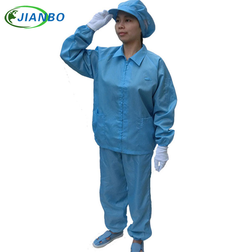Anti-electrostatic cent body suit dust palliative the clean have no a dust to purify a protection to take smock palliative drug therapy