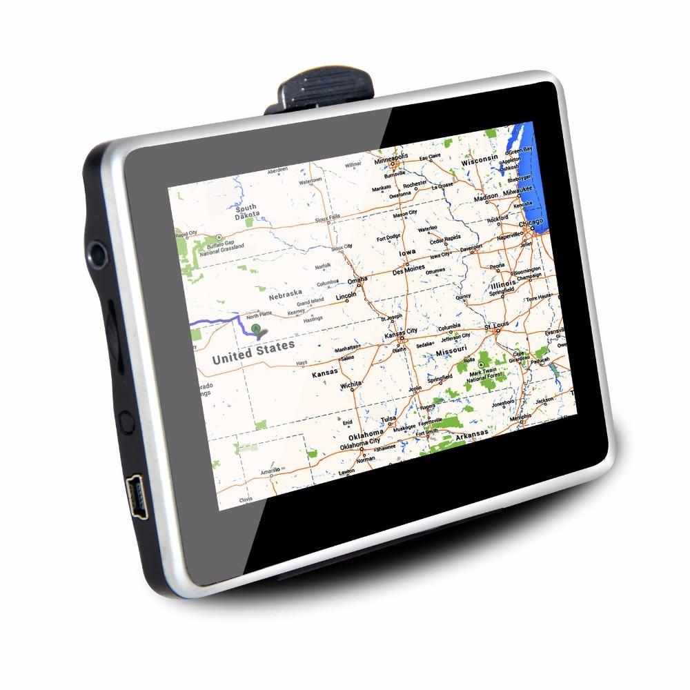 KONNWEI 5 zoll GPS navigator tragbare navigation