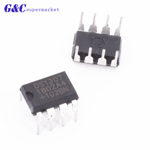 10 PCS DS1307 DIP8 DS1307N DIP new IC DS1307ZN DIP8 Clock Timing - Real Time Clock IC 100 pcs ds1307 dip 8 1307 64 x 8 serial i2c real time clock