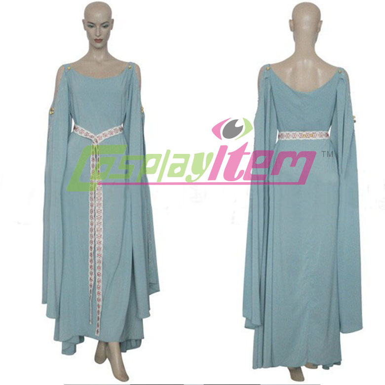 Custom Made anime movie King Arthur Guinevere costume Dress Movie ...