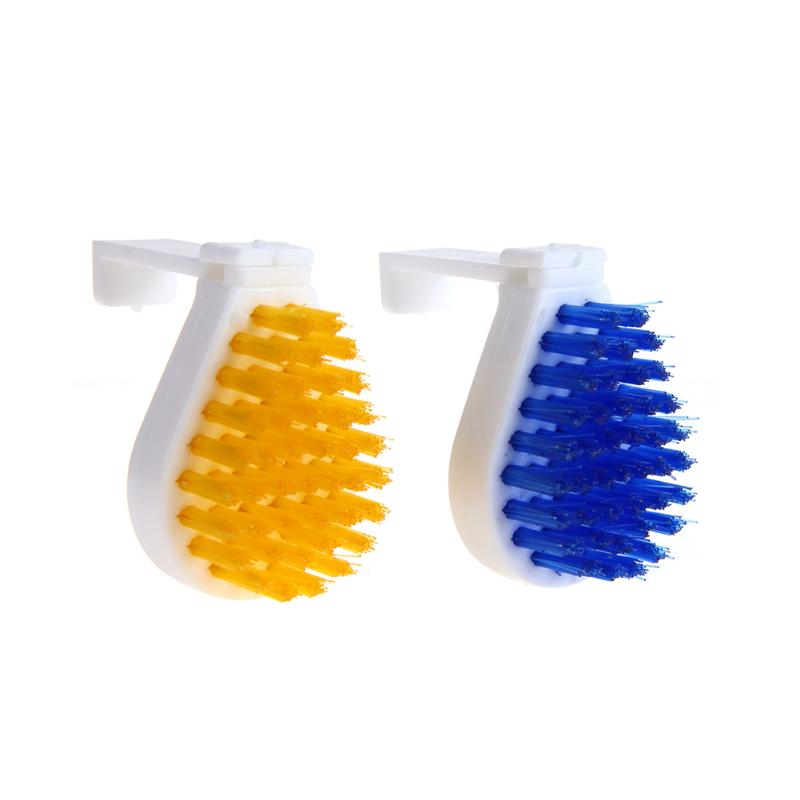 2pcs Household Rust Remover Cleaning Brush 360 Degree Rotation Kitchen Accessaries Convenient Bathroom Tile Clean Tools