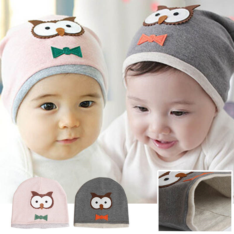 Unisex Cotton Owl Beanie New Born Baby Boy Girl Soft Toddler Cap Kid Child Hat, 2017 Fashion Kid Winter Hats Dropshipping kids baby cotton beanie soft girl boy knit hat toddler infant kid newborn cap