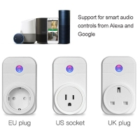 Alexa SWA1 10A Home Automation Wireless Smart WiFi Socket Support Smartphone Remote Control Timing Switch EU