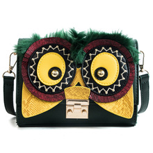 Luxury Famous Brand Shoulder Bags Female Big Eyes Handbag Women PU Leather Messenger Crossbody Bags Fashion Party Clutch bag