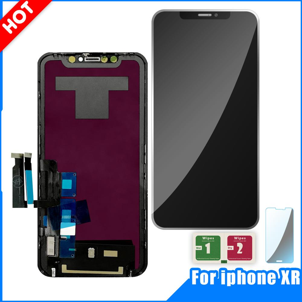 LCD Display For Apple iPhone XR Display Touch Screen Digitizer Assembly For iPHONE XR LCD Replacement PartsLCD Display For Apple iPhone XR Display Touch Screen Digitizer Assembly For iPHONE XR LCD Replacement Parts