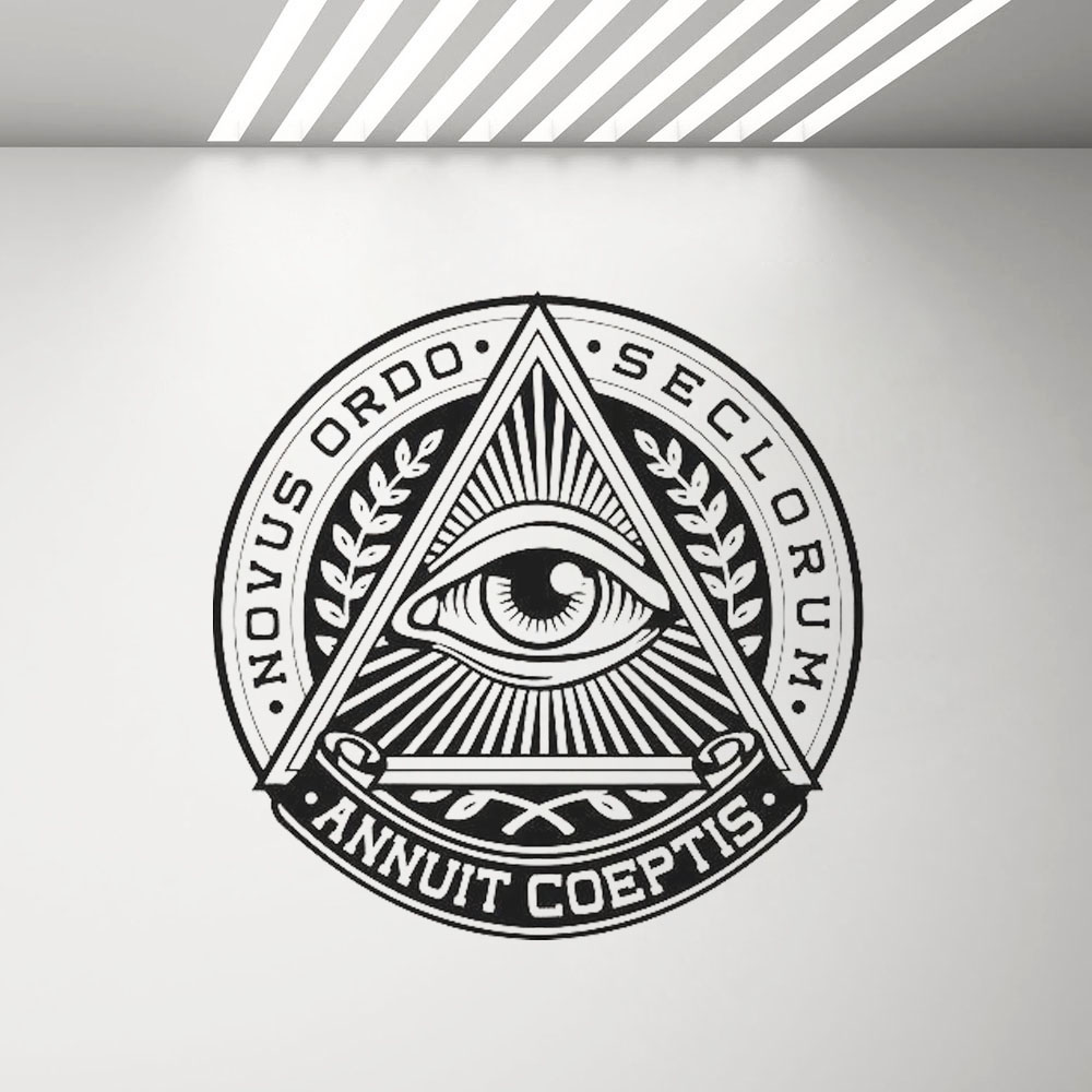 Eye Of Providence Cap Remover All Seeing Eye Illuminati Keyring New Exclusive