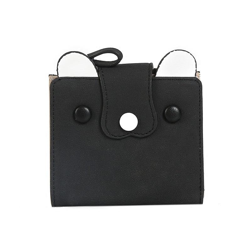 mini Creative Cute Animal Female Hasp Wallet Fashion Portable Short Zipper Purse Casual Card Holder College Student Wallet C236
