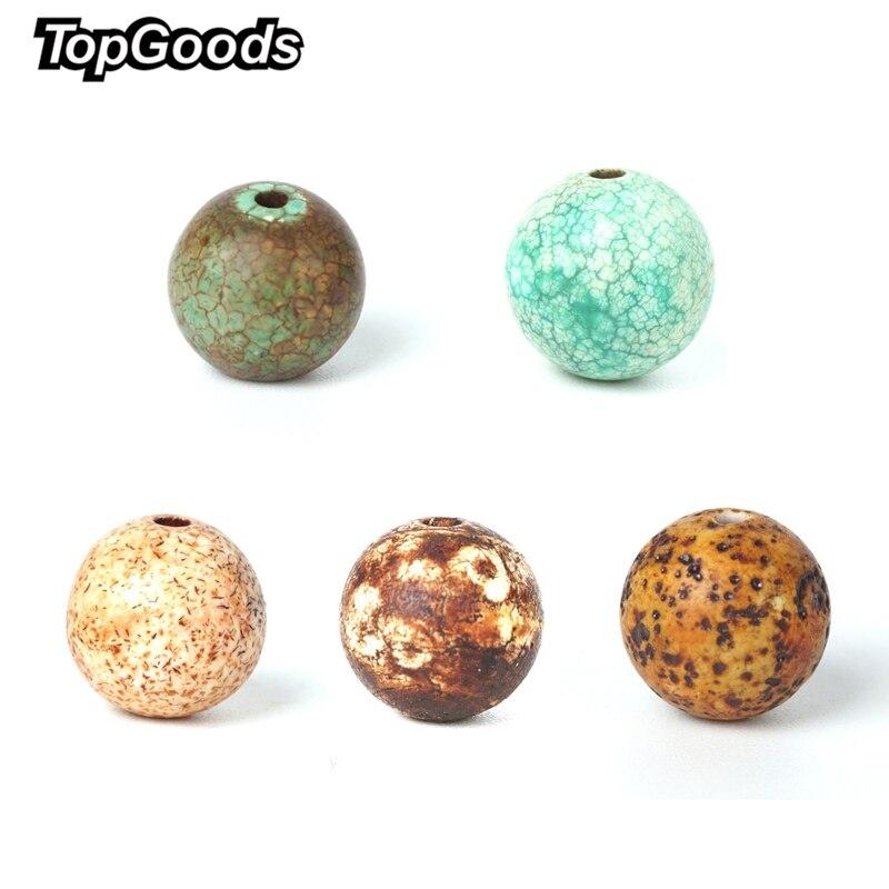 """TopGoods Natural Carnelian Contas Crackle Ágata Contas Loose Gemstone Do Vintage Fosco 8mm Strand 15 """"Para A Fabricação De Jóias de Pedra"""