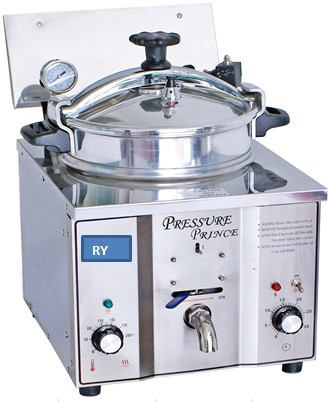 Elétrica Fritadeiras Fritadeira Frango Frito Pote de Comida Fornos Mini Pressão KFC Fritadeira Elétrica Fritadeira De Frango