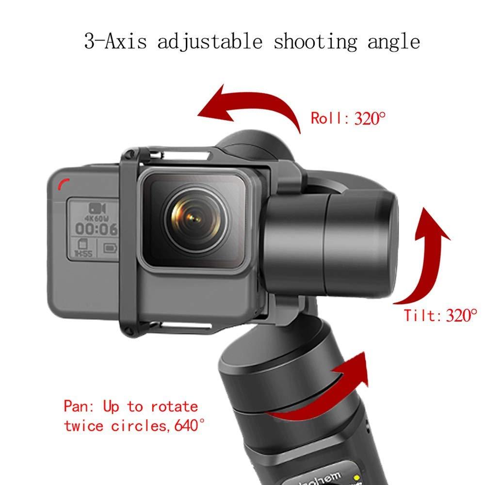 Hohem iSteady Pro 3-Axe stabilisateur de cardan pour GoPro Hero 7 6 5 4 3 Yi 4 K, caméra d'action RXO AEE SJCAM, 3-Axe GoPro Cardan - 5