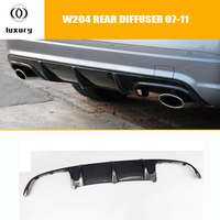 C63 Style Carbon Fiber Rear Bumper Diffuser for Benz W204 Pre facelift C180 C200 C300 with AMG Package & C63 AMG 07 11 Only