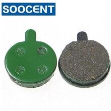 Bicycle-Disc Brake-Pads Zoom/artek Green Resin for 10pcs 5-Pairs And X-Rated Memi-Metallic