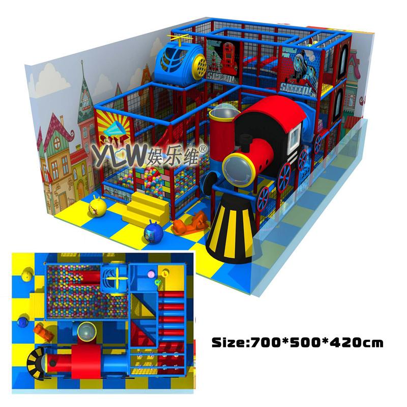 nios laberinto playground zona de juegos interior centro parque de atracciones parque
