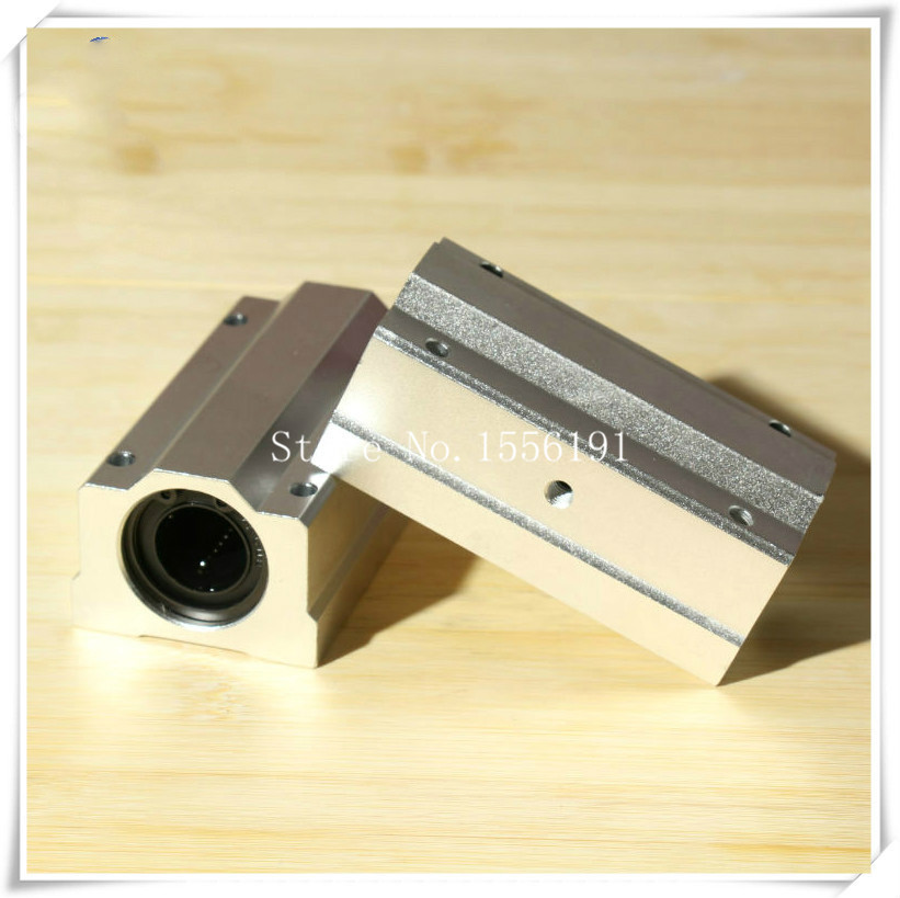 1PCS  SCS50L-UU Slide Linear Bearings,long box typeCylinder axis,SCS50LUU Linear motion ball silide units,CNC parts High quality scv25uu slide linear bearings aluminum box type cylinder axis scv25 linear motion ball silide units cnc parts high quality