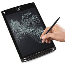 цены на 8.5'' LCD Writing Tablet Digital Graphic Tablets Electronic Handwriting LCD Drawing Tablet Pad Board Notepad Stylus Pen for Kids  в интернет-магазинах