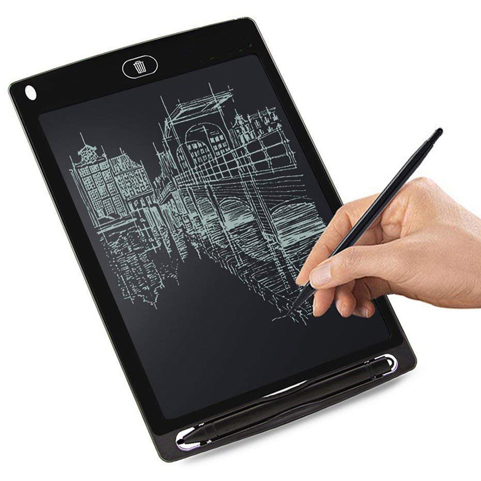 8.5'' LCD Writing Tablet Digital Graphic Tablets Electronic Handwriting LCD Drawing Tablet Pad Board Notepad Stylus Pen for Kids image