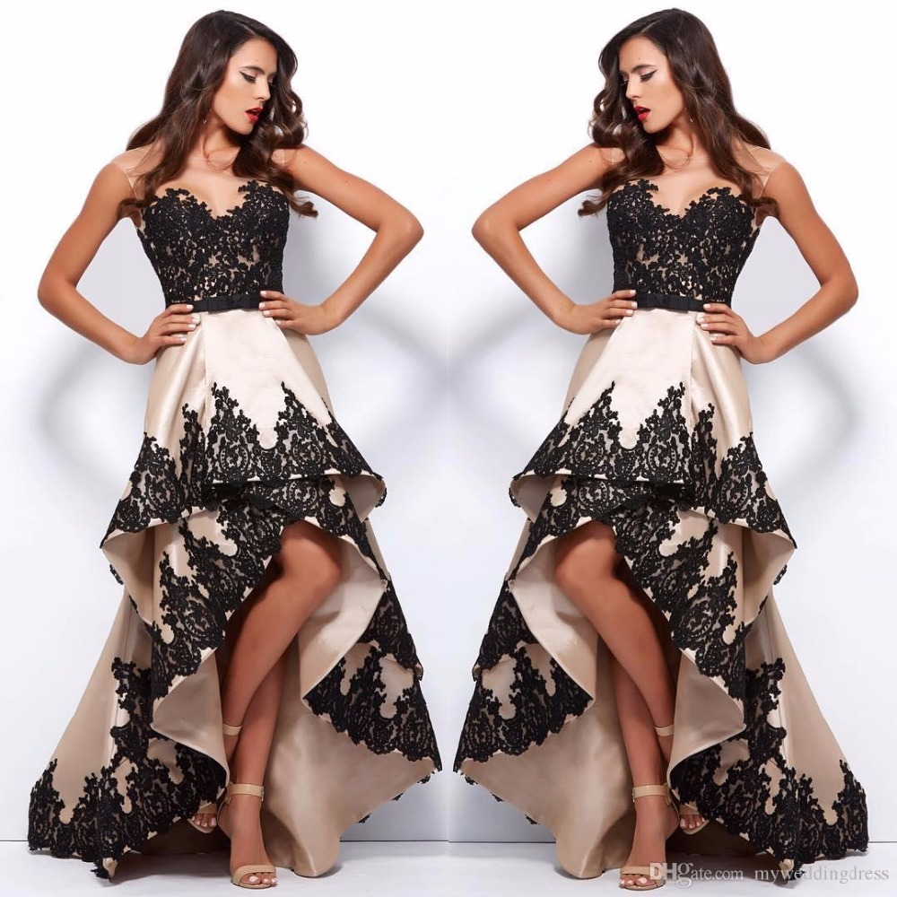 aa9eef811f6 High Low Plus Size Formal Dresses