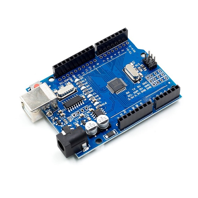 high quality One set UNO R3 CH340G+MEGA328P Chip 16Mhz For Arduino UNO R3 Development board + USB CABLE 2