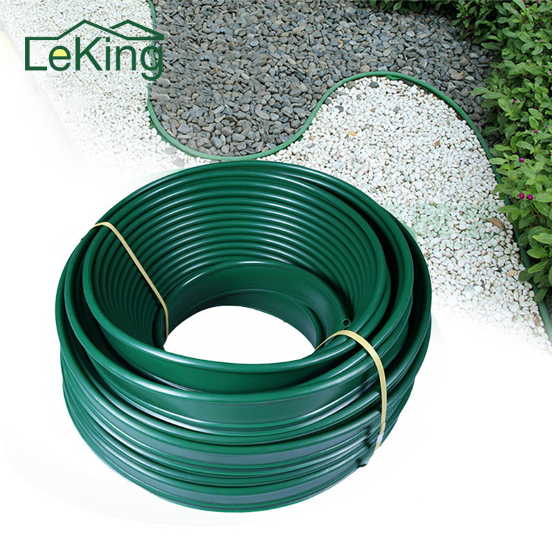 Landscaping Garden Grass Stone Isolation Belt 10CM * 5M For Outdoor Lawn Patio Farms Par ...