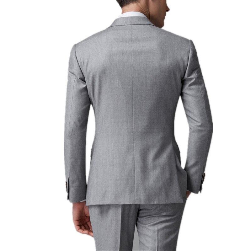 Couleur Pantalon Du Mariage Vêtements Pour Marié vestes De Personnalisé Hommes Parti Solide Ensemble Motif Costume TdpKw0