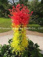 LRS004 Free Shipping Hot Pop Art Christmas Blown Glass Flowers