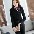 2 Pedazos de Las Mujeres de Oficina de Alta Calidad Mini Falda elegante traje femenino ropa Azafata uniformes de Estética personal del Hotel