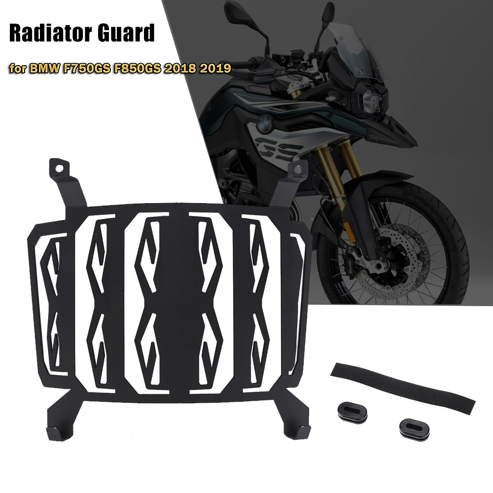 Water Radiator Guard Protector Cover For BMW F750GS F850GS F 750 GS F 850 GS 2018 2019 Stainless Steel Motorcycle Accessories-in Covers & Ornamental Mouldings from Automobiles & Motorcycles    1