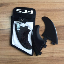 FCS silicone plastic surfboard G5 FIN with fcs bag