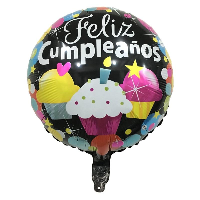 Folienballon Happy Birthday heliumballon cumpleaños infantil cumpleaños globo