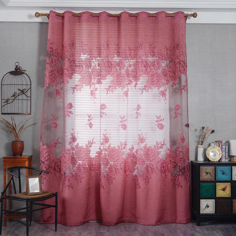 Aliexpress.com : Buy Peony Flower Bedroom Living Room Bay Window ...
