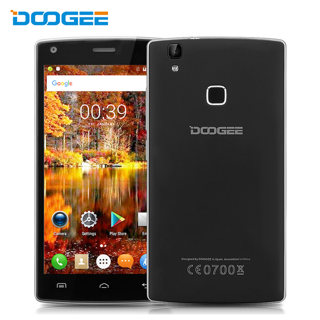 Original Doogee X5 MAX Pro MTK6737 Quad Core Smartphone 5.0 Inch Android 6.0 Mobile Phone 2GB RAM 16GB ROM 4000mAH 4G Cell Phone