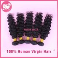 Grade 7A Malaysian Deep Wave Virgin Hair Extension 8-28inch Instock Natural Color Malaysian Hair Malaysian Virgin Hair 5Pcs Lot
