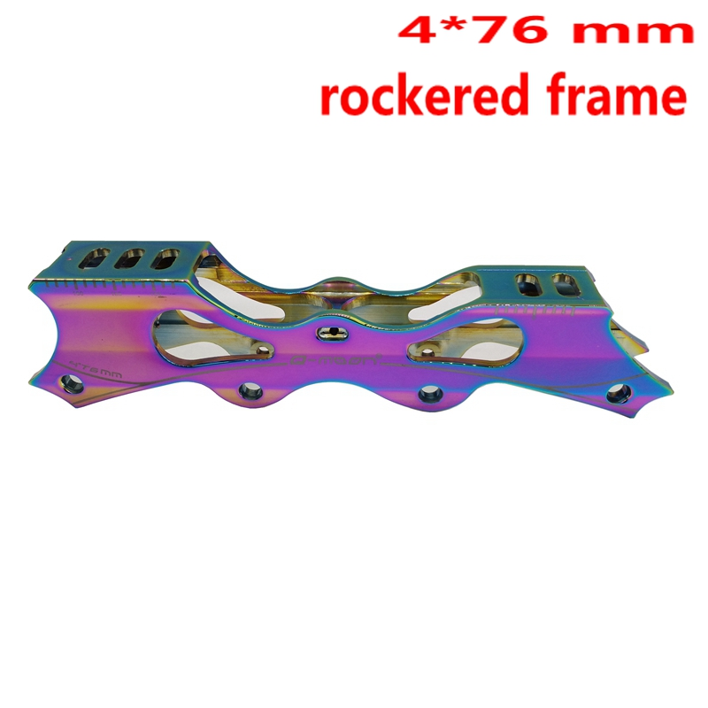Free Shipping Roller Skates Frame Banana Frame Rocker Frame 4*76 Mm
